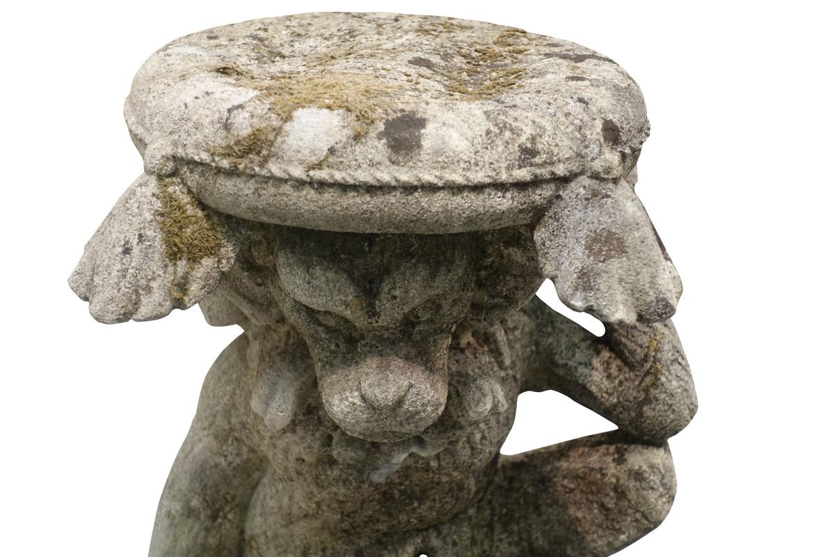 Balsamo Antiques 1940 S Italian Vicenza Stone Monkey