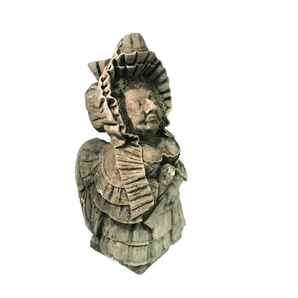 19thc Italian Sicilian Stone Gnome