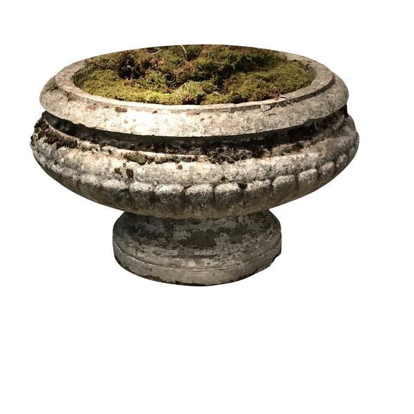 19thc French XL Stone Urn