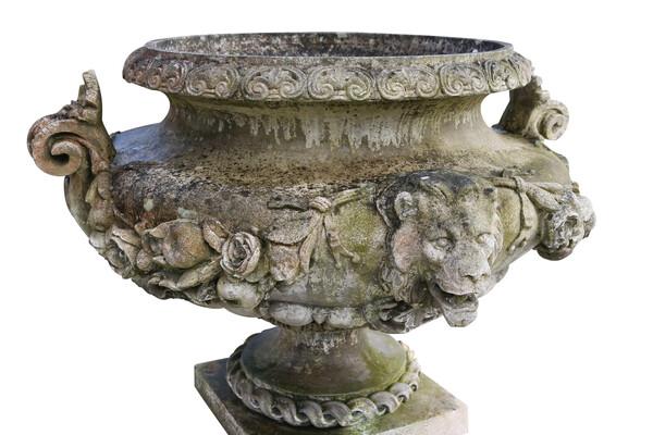 1950's English XL Garden Urn