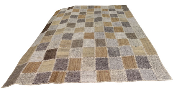 Contemporary Turkish Patchwork Kilim