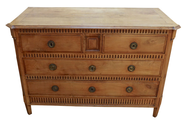 19thc French Reed Front Commode