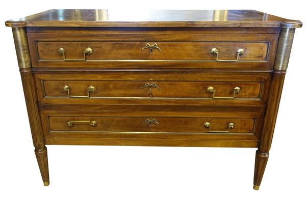 19thc French  Three Drawer Bureau