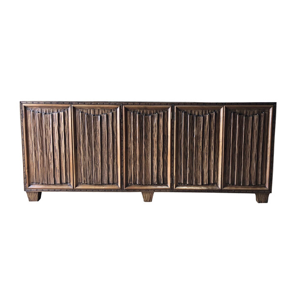 1940's French Five Door Credenza