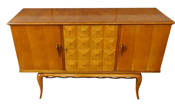 1940's Italian Three Door Credenza