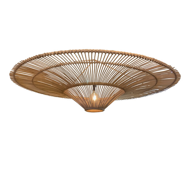 Contemporary Indonesian Bamboo Chandelier