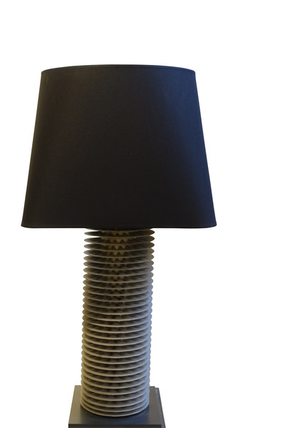 Mid Century Belgian Single Radiator Lamp