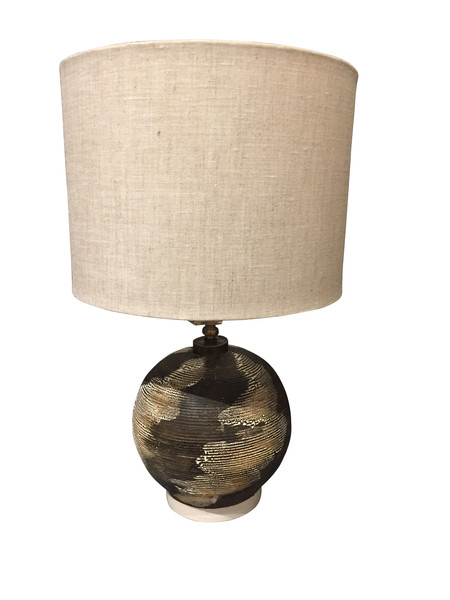 Mid Century French Textured Desk Lamp