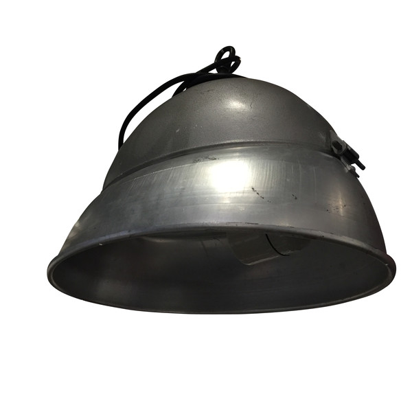 1940's Hungarian Oval Shaped Industrial Light