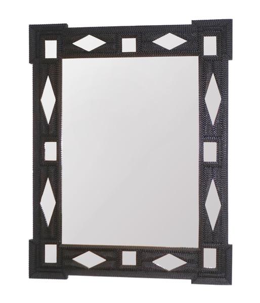 1880c French Tramp Art Mirror