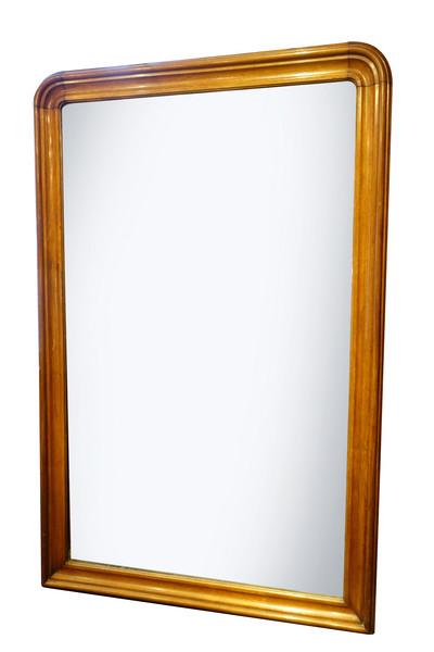 19thc English  Extra Large Mahogany Mirror