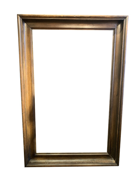 19thc French XL Wooden Frame