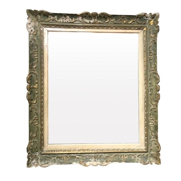 1940's French Montparnasse Framed Mirror