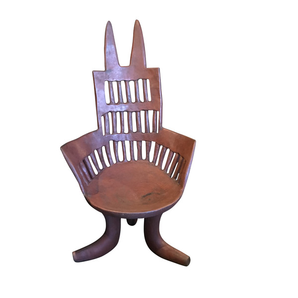 19th C Ethiopian Wooden Chair