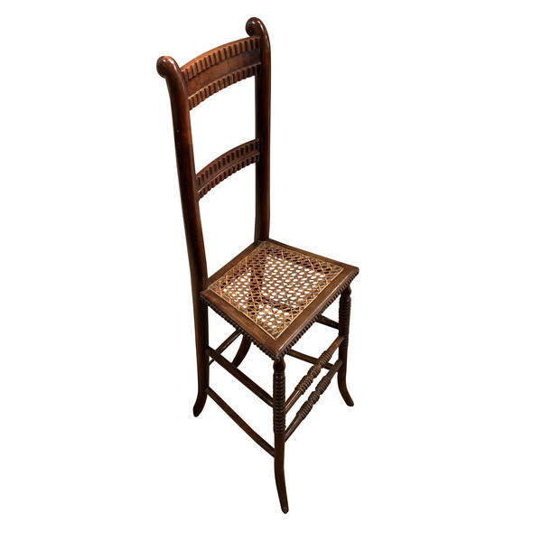 19thc English Childs Deportment Chair