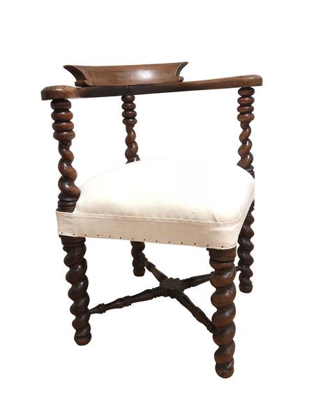 19thc English Corner Chair