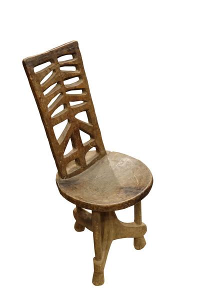 19thc Ethiopian Chair