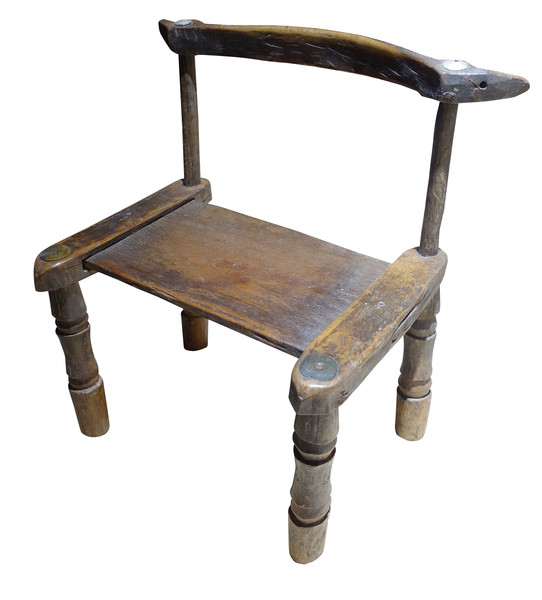 19thc African Childs Chair