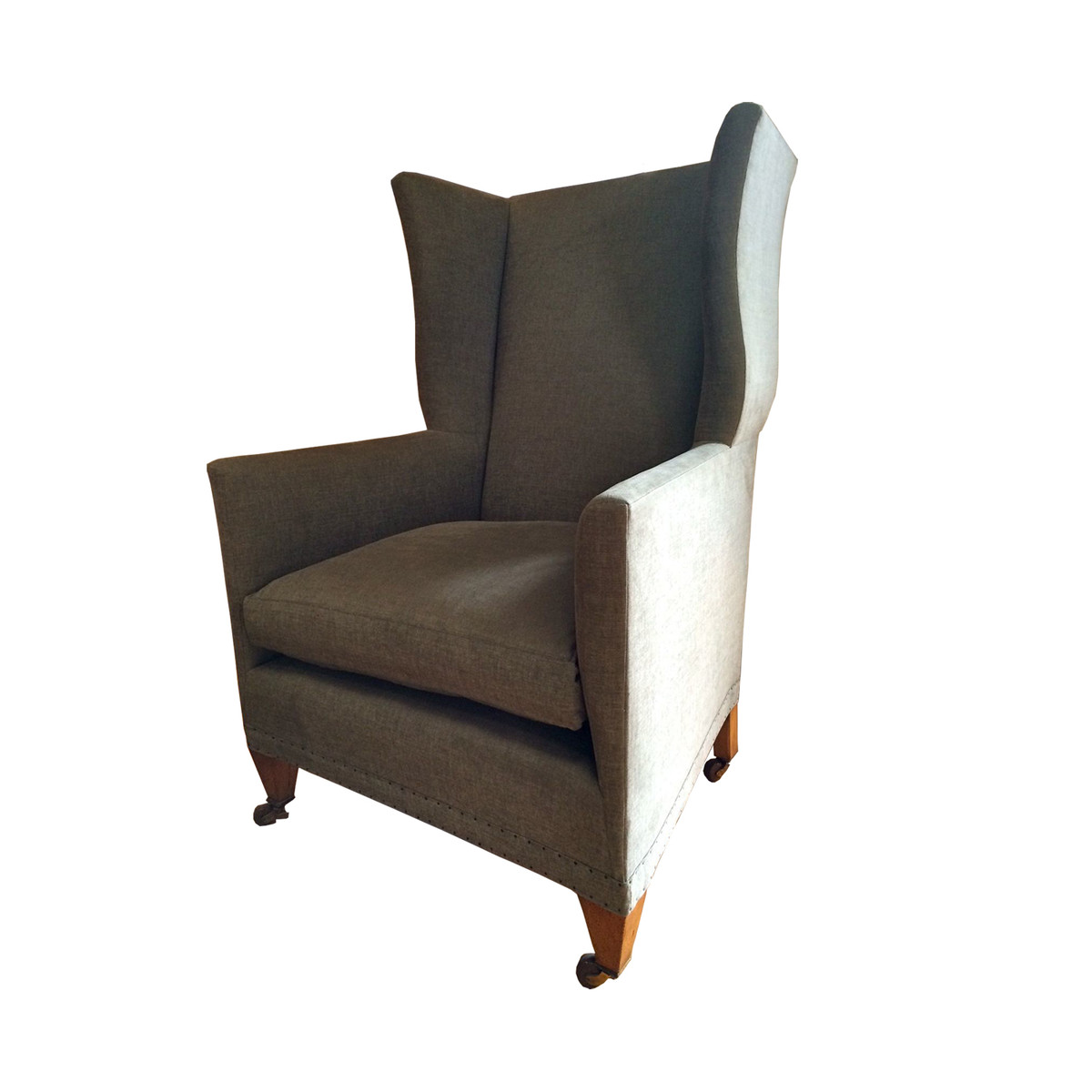 Home Chairs Contemporary Wing Chair. Previous