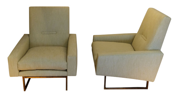 1960's French Pair Side Chairs