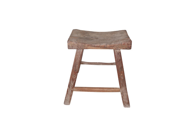 19thc Chinese Wooden Stool
