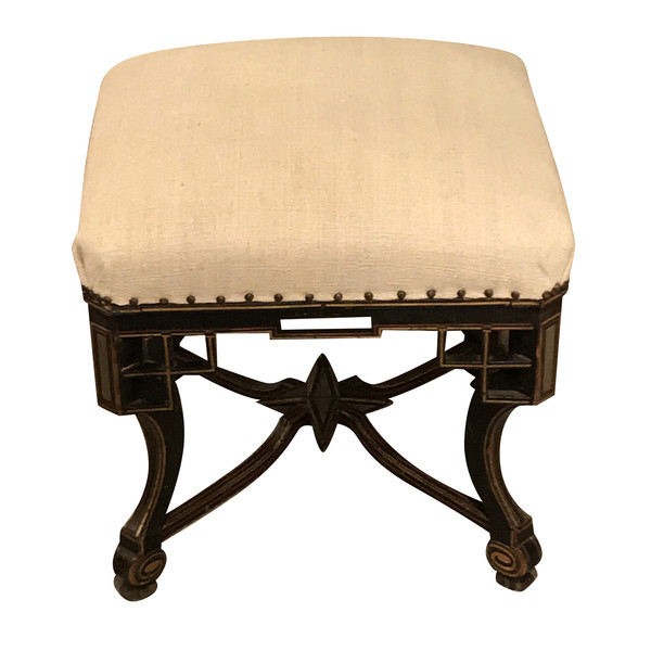 19thc French Napoleon III Foot Stool