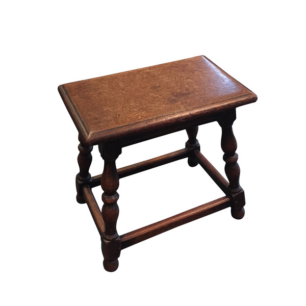 19th Century Joint Stool/Side Table, England