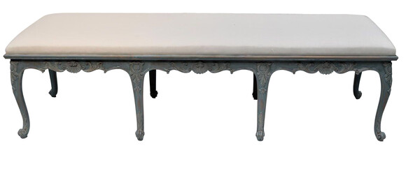 1930's Swedish Gustavian Style Bench