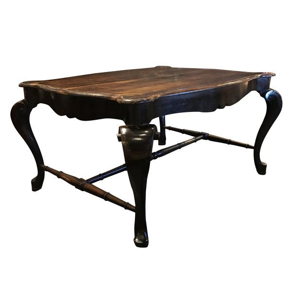 17thc Italian Florentine Desk / Center Hall Table / Dining Table