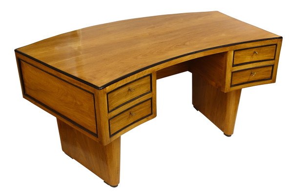 Mid Century French Curved Desk