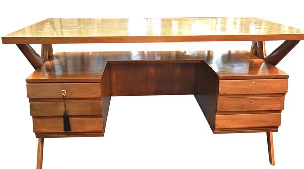 Mid Century Italian Ico Parisi Desk
