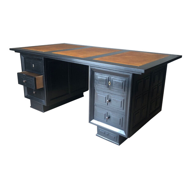 1940's French Cubist Desk