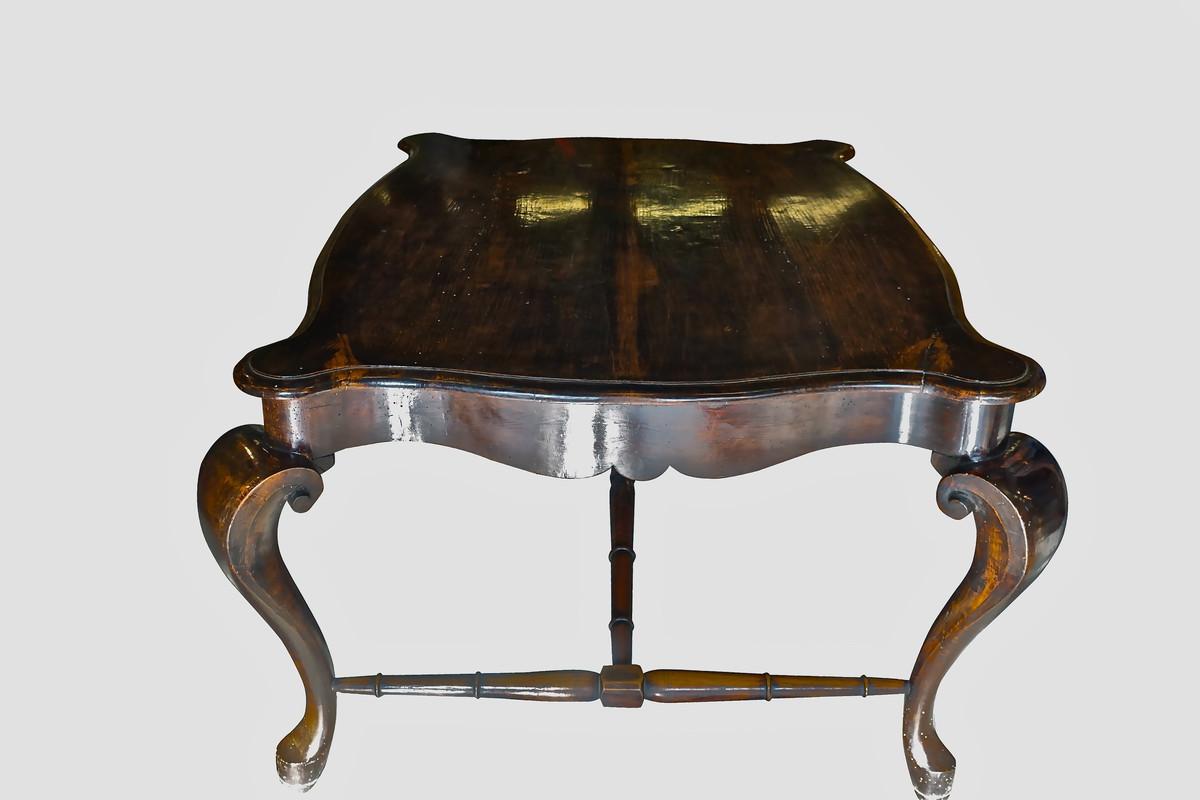 Florentine Dining Room: 17thc Italian Florentine Desk / Center