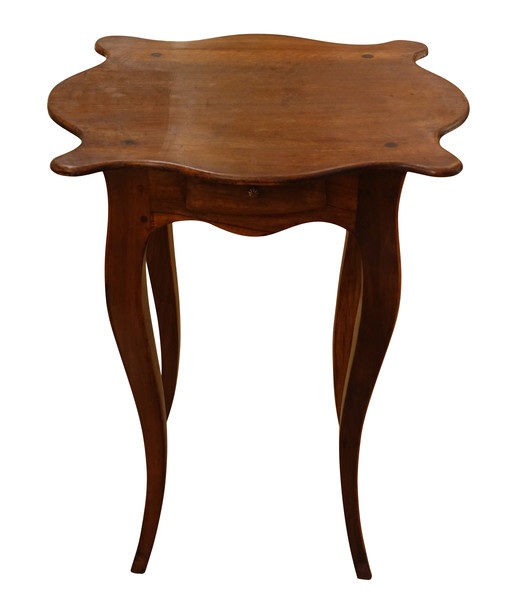 19thc French Walnut Cocktail Table