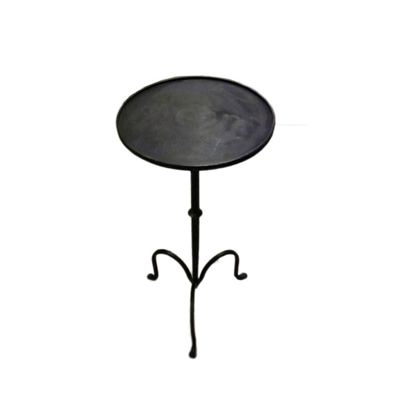 Contemporary Steel Tripod Leg Cocktail Table