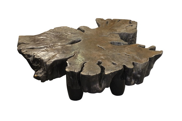 Borneo Lychee Wood Free Form Coffee Table