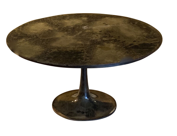 Contemporary Indian Mottled Bronze Coffee Table