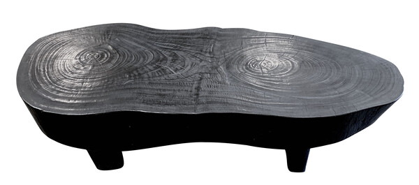 Indonesian Free Form Suar Wood Coffee Table