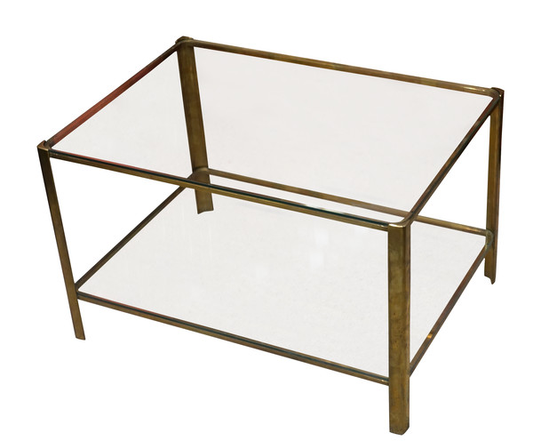 1960's French Jacques Quinet Coffee Table