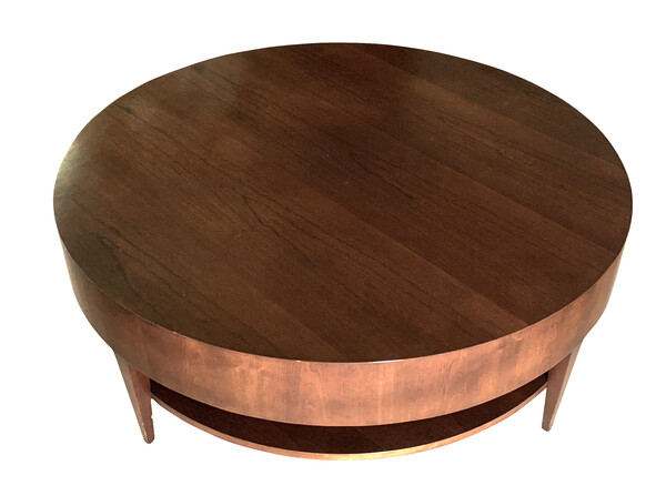 1980's Round Coffee Table