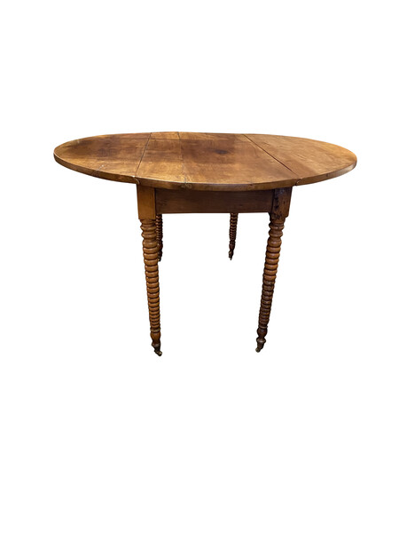 19thc French Louis Phillipe Round Dining Table
