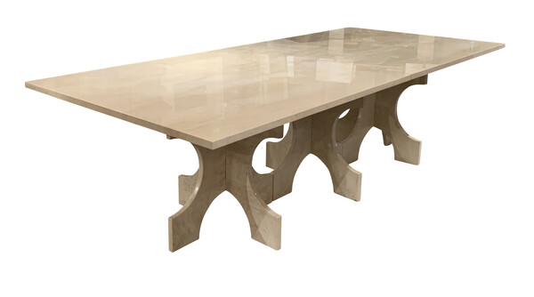Bespoke Travertine Dining Table
