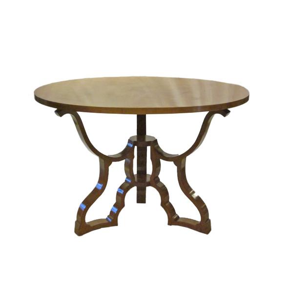1940's Italian Round Dining Table