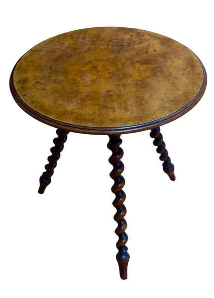 1880C English Crickett Side Table