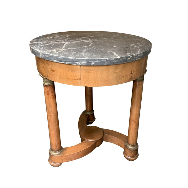 19thc French Propeller Base Gueridon