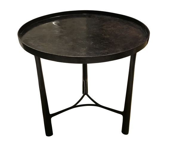 Contemporary German Bronze Side Table