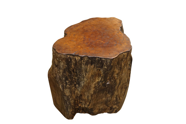 Contemporary Indonesian Lychee Wood Side Table