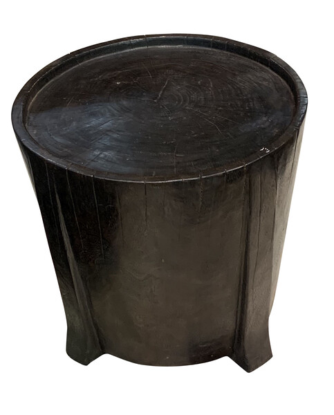 Contemporary Indonesian Mango Wood Side Table