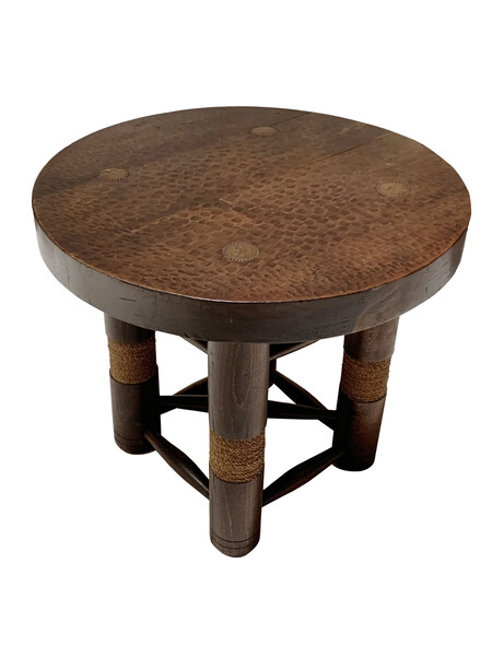 1930's French Duduoyt Side Table